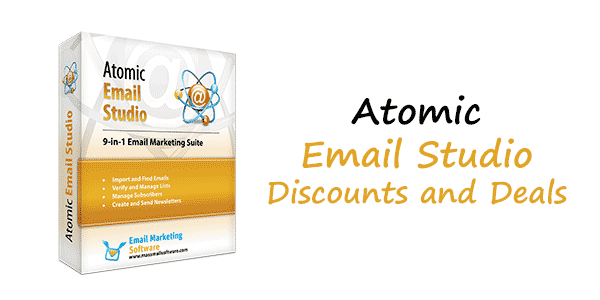 Atomic Email Studio Discount Coupon Code - 35% Promo Coupons