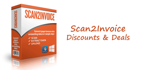 Save up to 70% on Scan2Invoice