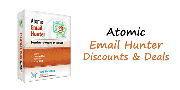 Atomic Email Hunter Discount Code 65% Off