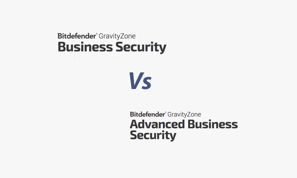 What are the differences when comparing Bitdefender GravityZone Business Security vs Advanced?